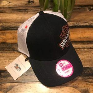 Women's Harley Davidson Trucker Hat